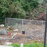 chain link fence replacement